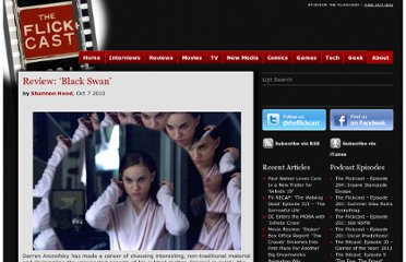 http://theflickcast.com/2010/10/07/review-black-swan/