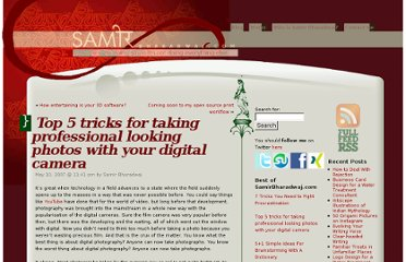 http://samirbharadwaj.com/blog/top-5-tricks-for-taking-professional-looking-photos-with-your-digital-camera/