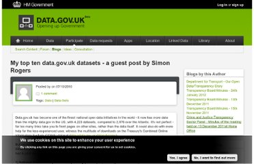 http://data.gov.uk/blog/my-top-ten-datagovuk-datasets-guest-post-simon-rogers