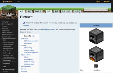 http://www.minecraftwiki.net/wiki/Furnace#Fuel_efficiency