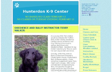 http://hunterdonk-9center.com/obedience_instructor_terry_walker