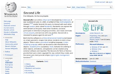 http://en.wikipedia.org/wiki/Second_Life