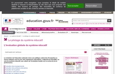 http://www.education.gouv.fr/cid265/l-evaluation-globale-du-systeme-educatif.html