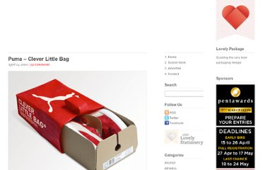 http://lovelypackage.com/pumas-clever-little-bag/