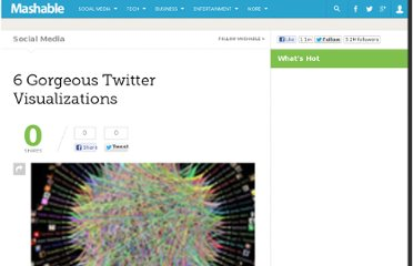 http://mashable.com/2009/06/30/gorgeous-twitter-visualizations/
