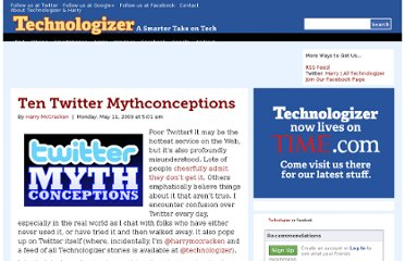 http://technologizer.com/2009/05/11/ten-twitter-mythconceptions/