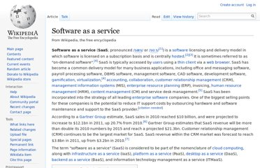 http://en.wikipedia.org/wiki/Software_as_a_service