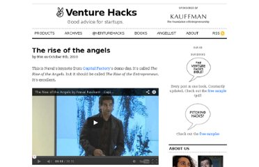 http://venturehacks.com/articles/rise-angels