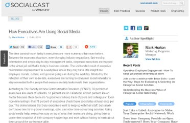 http://blog.socialcast.com/how-executives-are-using-social-media/