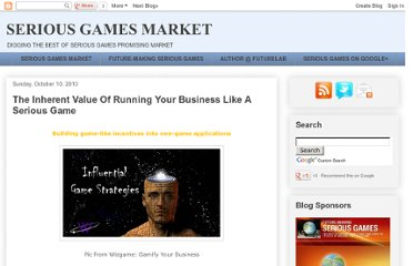 http://seriousgamesmarket.blogspot.com/2010/10/inherent-value-of-running-your-business.html