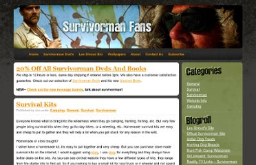 http://www.survivormanfans.com/survival-kits/