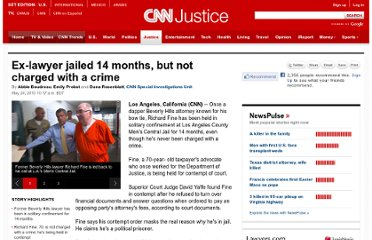 http://www.cnn.com/2010/CRIME/05/24/jailed.lawyer.richard.fine/index.html