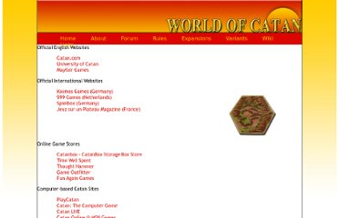 http://www.worldofcatan.com/links.html