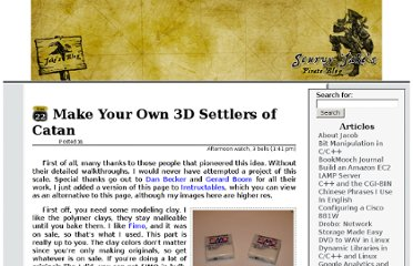 http://bogomip.net/blog/make-your-own-3d-settlers-of-catan/