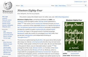 http://en.wikipedia.org/wiki/Nineteen_Eighty-Four