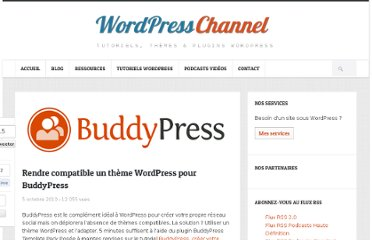 http://wpchannel.com/rendre-compatible-theme-wordpress-buddypress/