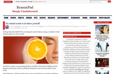 http://www.reasonpad.com/2009/07/try-natural-scents-to-de-stress-yourself/