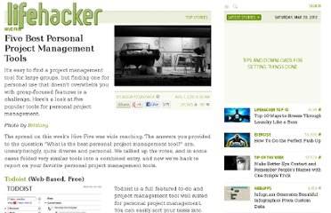 http://lifehacker.com/5601278/five-best-personal-project-management-tools
