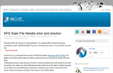 http://www.cyberciti.biz/tips/nfs-stale-file-handle-error-and-solution.html