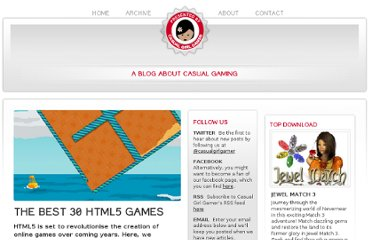 http://www.casualgirlgamer.com/articles/entry/28/The-Best-30-HTML-5-games/
