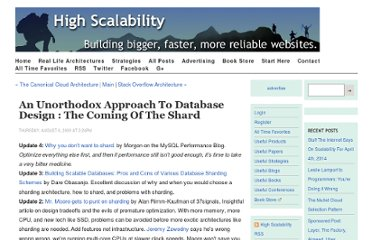 http://highscalability.com/unorthodox-approach-database-design-coming-shard