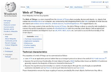 http://en.wikipedia.org/wiki/Web_of_Things