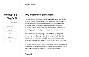 http://blog.cdleary.com/2010/10/why-programming-languages/