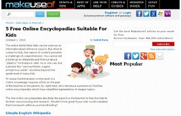 http://www.makeuseof.com/tag/5-free-online-encyclopedias-suitable-kids/