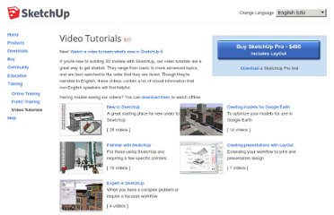 http://sketchup.google.com/training/videos.html