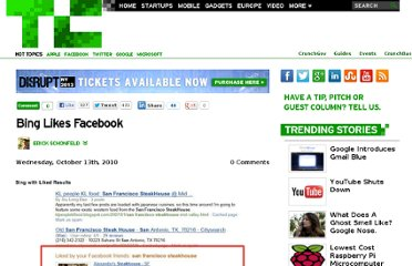 http://techcrunch.com/2010/10/13/bing-likes-facebook/