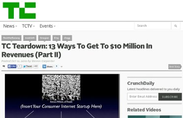 http://techcrunch.com/2010/10/12/tc-teardown-13-ways-10-million-part-ii/
