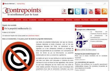 http://www.contrepoints.org/2010/10/13/3769-de-la-propriete-intellectuelle