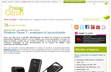 http://www.presse-citron.net/windows-phone-7-avantages-et-inconvenients