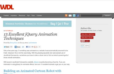 http://webdesignledger.com/tutorials/13-excellent-jquery-animation-techniques