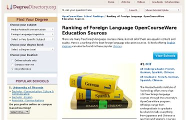 http://degreedirectory.org/articles/Ranking_of_Foreign_Language_OpenCourseWare_Education_Sources.html