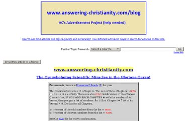 http://www.answering-christianity.com/quran_search.htm