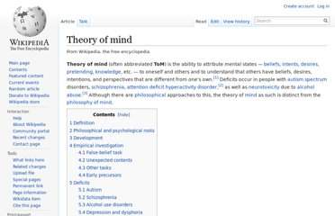 http://en.wikipedia.org/wiki/Theory_of_mind