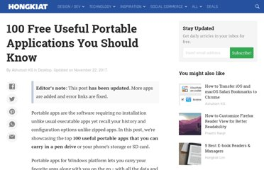 http://www.hongkiat.com/blog/70-free-useful-portable-applications-you-should-know/