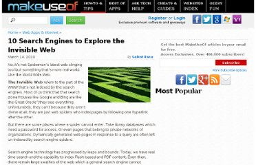 http://www.makeuseof.com/tag/10-search-engines-explore-deep-invisible-web/#more-37991