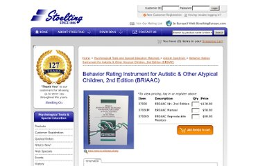 https://www.stoeltingco.com/stoelting/2043/1467/1495/Psychological/Behavior-Rating-Instrument-for-Autistic-And-Other-Atypical-Children-2nd-Edition-BRIAAC