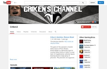 http://www.youtube.com/user/Criken2