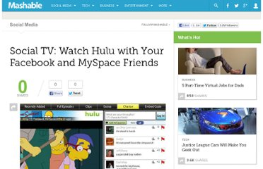 http://mashable.com/2009/04/28/social-tv/
