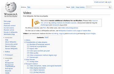 http://en.wikipedia.org/wiki/Video