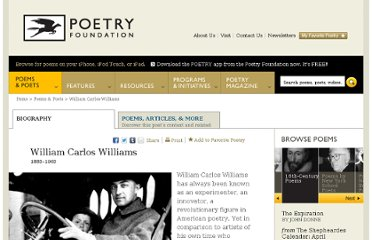 http://www.poetryfoundation.org/bio/william-carlos-williams