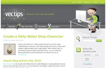 http://vectips.com/tutorials/create-a-dirty-water-drop-character/