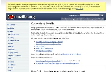 http://www.mozilla.org/unix/customizing.html