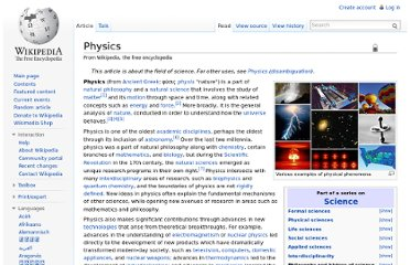http://en.wikipedia.org/wiki/Physics