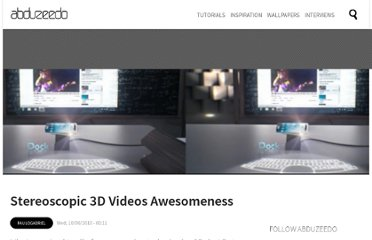http://abduzeedo.com/stereoscopic-3d-videos-awesomeness