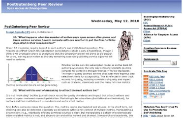 http://openaccess.eprints.org/index.php?/archives/729-PostGutenberg-Peer-Review.html