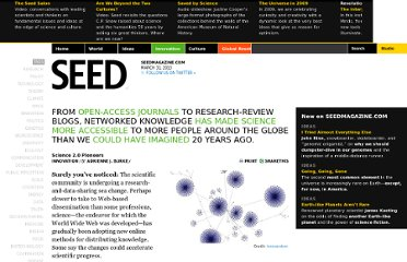 http://seedmagazine.com/content/article/science_2.0_pioneers
